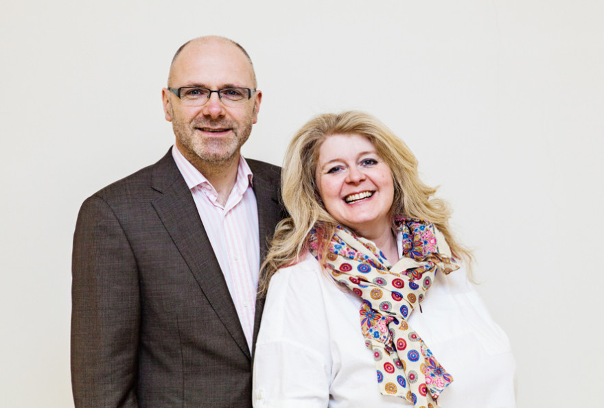 Sarah & Richard - Co founders